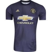Camisa Manchester United Iii 18/19 Adidas - Masculina - Azul Escuro