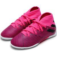 Chuteira Adidas Performance Nemeziz 19 3 In Jr Rosa