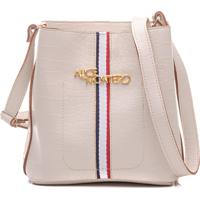 Bolsa Alice Monteiro Faixa Esportiva Frontal Saco - Off White