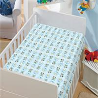Manta Infantil Mickey E Donald Disney Soft Poliéster Microfibra Jolitex 0,90Mx1,10M Azul