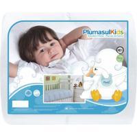Edredom 100% Pluma De Ganso-Baby-120X140-Branco