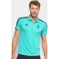 Camisa Polo Adidas Real Madrid Viagem Masculina - Masculino