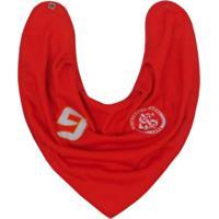 Babador Bebês Bandana Do Internacional Masculina - Masculino-Vermelho