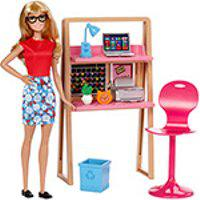 Barbie Móvel Com Boneca Office - Mattel