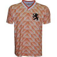 Netshoes  Camisa Liga Retrô Holanda 1988 - Masculino 860b521bdc617