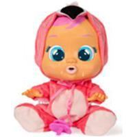 Br121 Multikids Boneca Cry Babies Flamy Com Chupeta