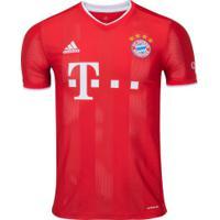 Camisa Bayern De Munique I 20/21 Adidas - Masculina - Vermelho