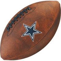 7f92e606a3838 Netshoes  Bola De Futebol Americano Wilson Throwback Nfl Jr. Dallas Cowboys  - Unissex