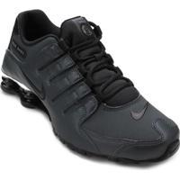 19e29ee79ee Tênis Nike Shox Turbo Masculino Branco Preto - MuccaShop