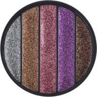 Paleta Luisance De Sombra Glitter Charm - Unissex-Rosa