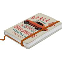 Caderno De Anotações Laranja 100 Folhas A6 Opala Urban