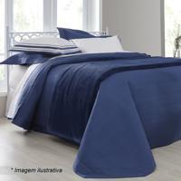 Conjunto De Cobre-Leito Palace King Size - Azul Escuro &Sultan