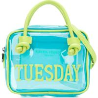 Alberta Ferretti Kids Bolsa 'Tuesday' - Azul