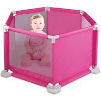 Cercado Para Bebês - Rosa - Braskit Bra9504