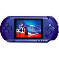 Video Game Portátil Pocket + Cartucho - Azul