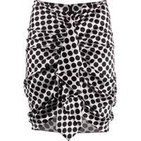 Alexandre Vauthier Ruched Mini Skirt - Rosa