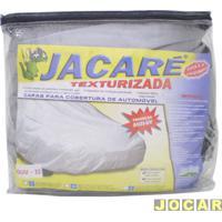 Capa De Carro - Bezi - S6-Veraneio/Grand Blazer/Veracruz - Jacaré - Impermeável - 100% Forrada - Cinza - Cada (Unidade) - Suv_Ii - Grande