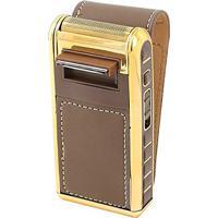 Barbeador Portátil Original Kemei 5600 Shaver Recarregável Bivolt Gold Carregar E Usar Prático