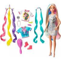 Boneca Barbie Princesa Aventura Penteados De Fantasia
