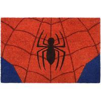 Capacho Spider Man®- Vermelho & Azul- 1,5X61X41Cm