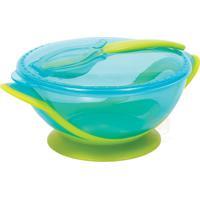 Buba5804 Kit Refeição Com Colher Para Bebê Azul - Buba