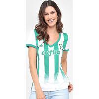 Camisa Palmeiras Ii 17/18 S/Nº Torcedor Adidas Feminina - Feminino