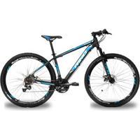 Bicicleta Rino Atacama 29 Freio Hidraulico - Shimano Acera Com Trava 27V - Unissex