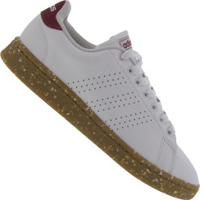 Tênis Adidas Advantage - Masculino - Branco/Vermelho