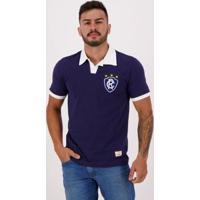 Camisa Retrô Mania Remo Pa 1993 - Masculino-Marinho