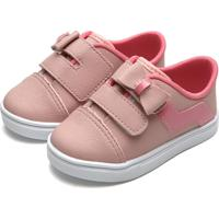 Tênis Pimpolho Infantil Laço Rosa