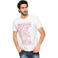 Camiseta Reserva Estampa Branco