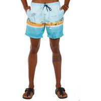 Shorts Docthos Estampa Exclusiva Praia Concept Shorts Docthos Estampa Exclusiva Praia Concept 012 Azul P
