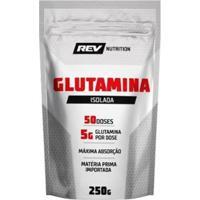 Glutamina 250Gr - Rev Nutrition - Unissex