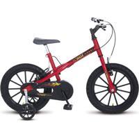 Bicicleta Colli Bikes Infantil Aro 16 Hot Colli Vermelho/Preto