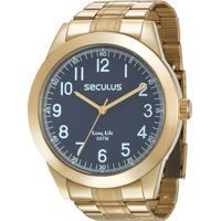 Relógio Seculus Masculino Long Life 28937Gpsvda1