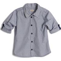 Camisa Equipe- Azul Claro & Pretagreen