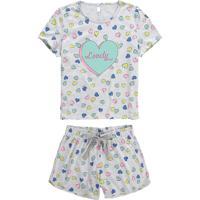 Pijama Mescla Lovely