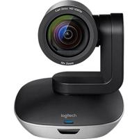 Câmera Webcam Logitech Group 960-001054 Hd System Preto