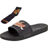 Chinelo Street Fighter Slide Rider - 11647 Preto 37/38