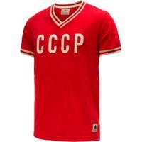 1b39d8a745b63 Netshoes  Camisa Retrô Gol Seleção Cccp Edição Limitada Masculina -  Masculino