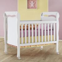 Berço Mini Cama Nanda 100% Mdf - Grade Fixa - Carolina Baby