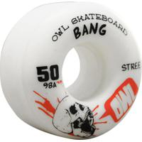 Roda Owl Sports Bang 50Mm (98A) - Unissex