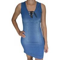 Vestido Super Sul - Feminino-Azul