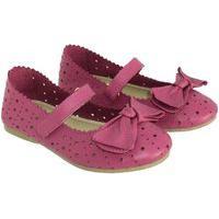 Sapato Hobby Infantil Em Couro Pink