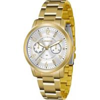 Relógio Feminino Lince Analógico Lmgj070L/S2Kx - Unissex-Dourado