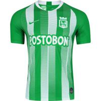Camisa Atlético Nacional I 18/19 Nike - Masculina - Verde/Branco