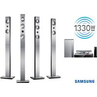 Home Theater 1330W Rms 7.1 Canais Samsung Com Blu Ray 3D , Dual Core, Wi-Fi Direct, Dlna, Bluetooth, Anynet, Allshare, Usb Host E Hdmi Out - Ht-F9750W