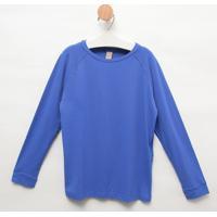 Blusa Com Pesponto- Azul Royalgreen