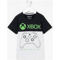 Camiseta Infantil Estampa De Controle Xbox - Tam 5 A 14 Anos   Xbox   Cinza Claro   9-10