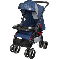 Carrinho De Bebê Berço Upper Tutti Baby Azul Azul